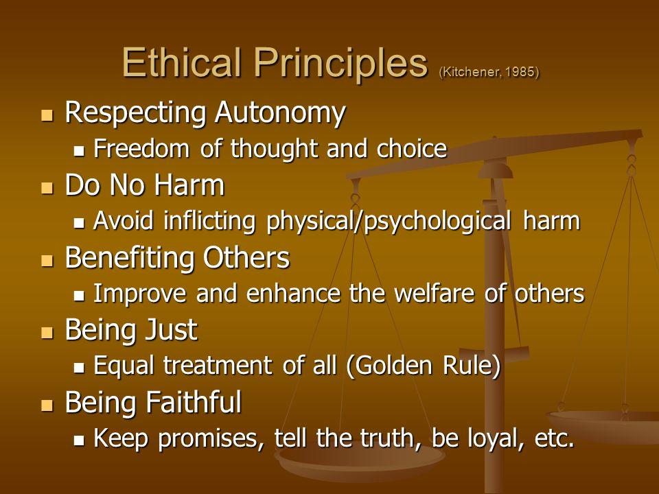 ethical principals