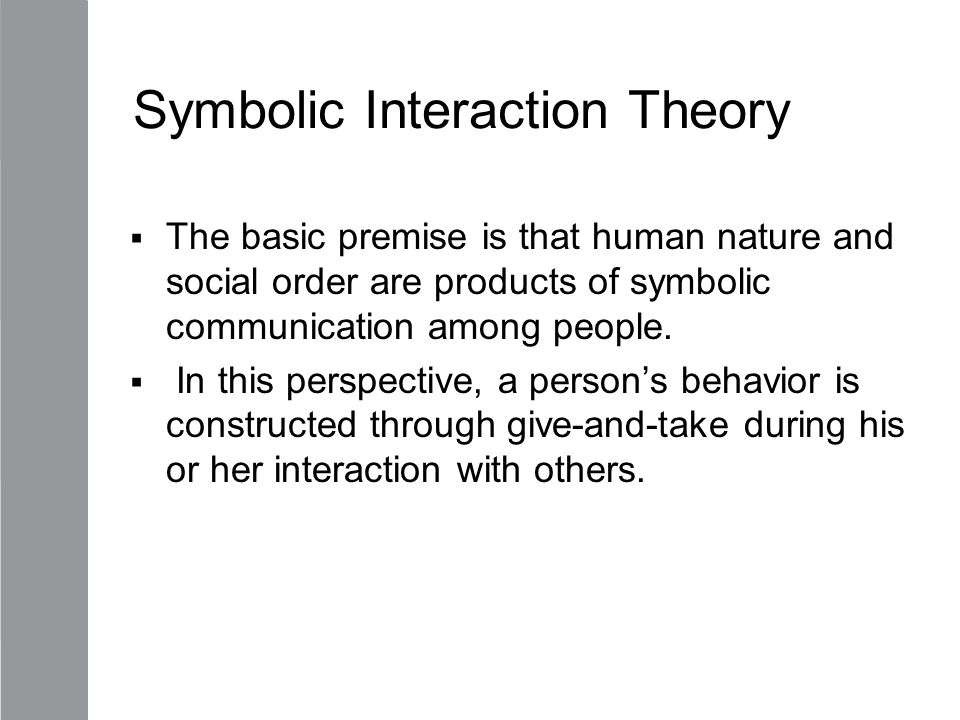 symbolic interactionism theory illegal immigration