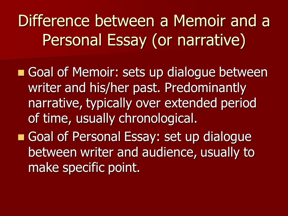 different topics for narrative essays