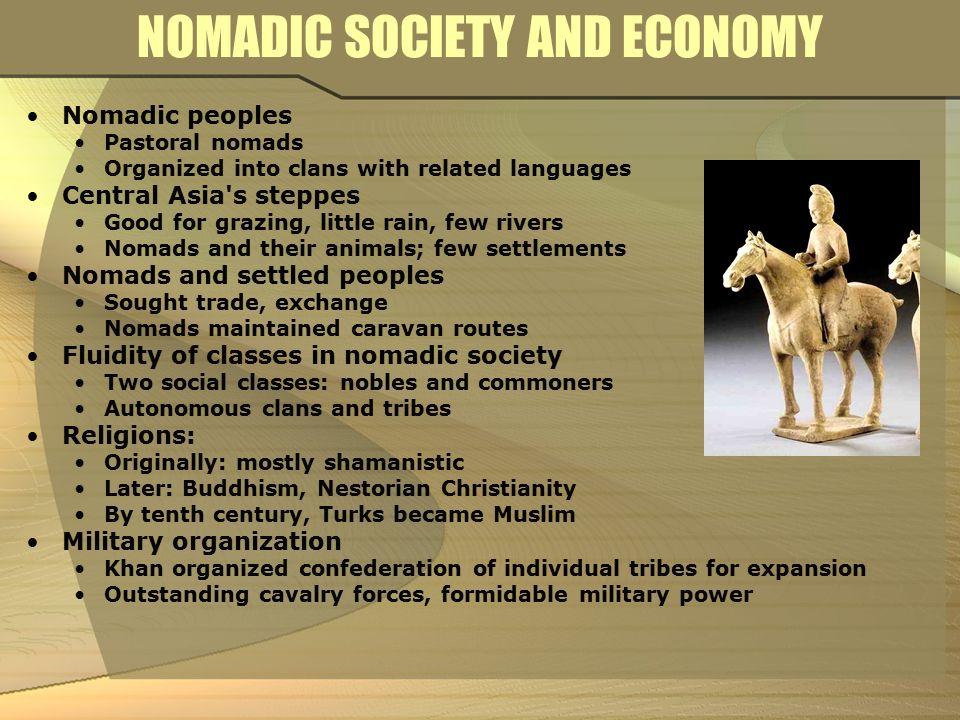 nomadic societies