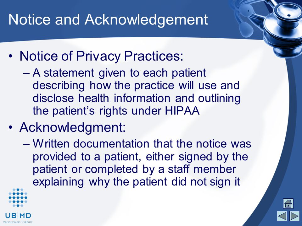The does HIPPAA affect the patient's access to his or her medical records?