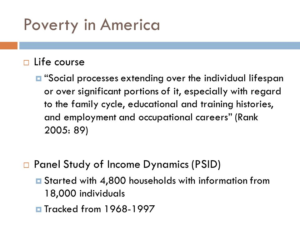 outline  no cem today  poverty and the life course  spells  3 poverty