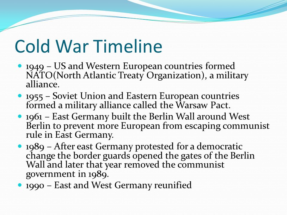 a look at nato after the cold war and its changing role Changing practices: nato's post-cold war it is useful to take a brief look at the origins and roles role of the mc and.