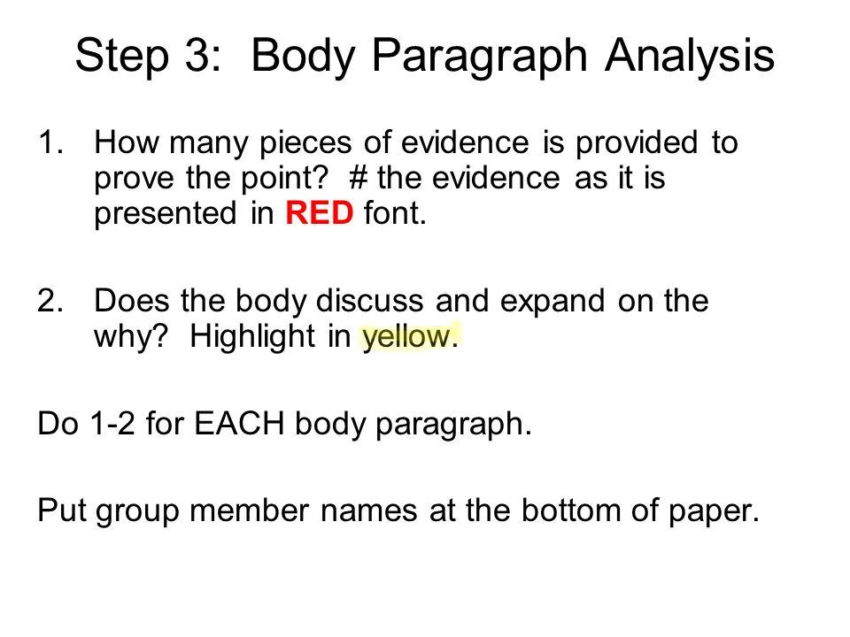 analyze essays