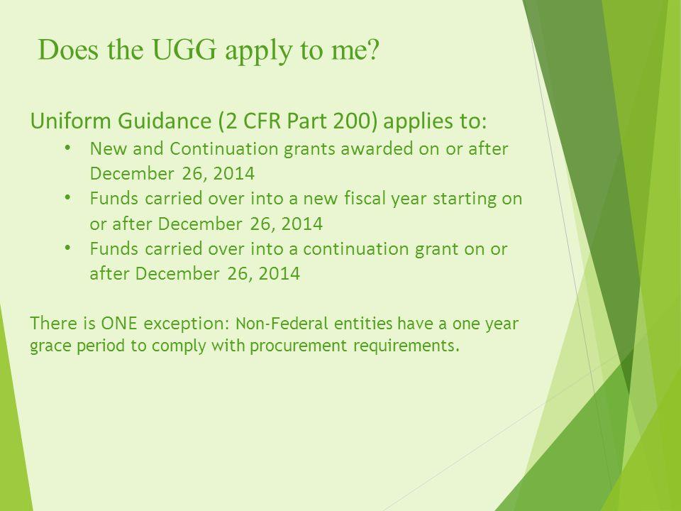 ugg grants