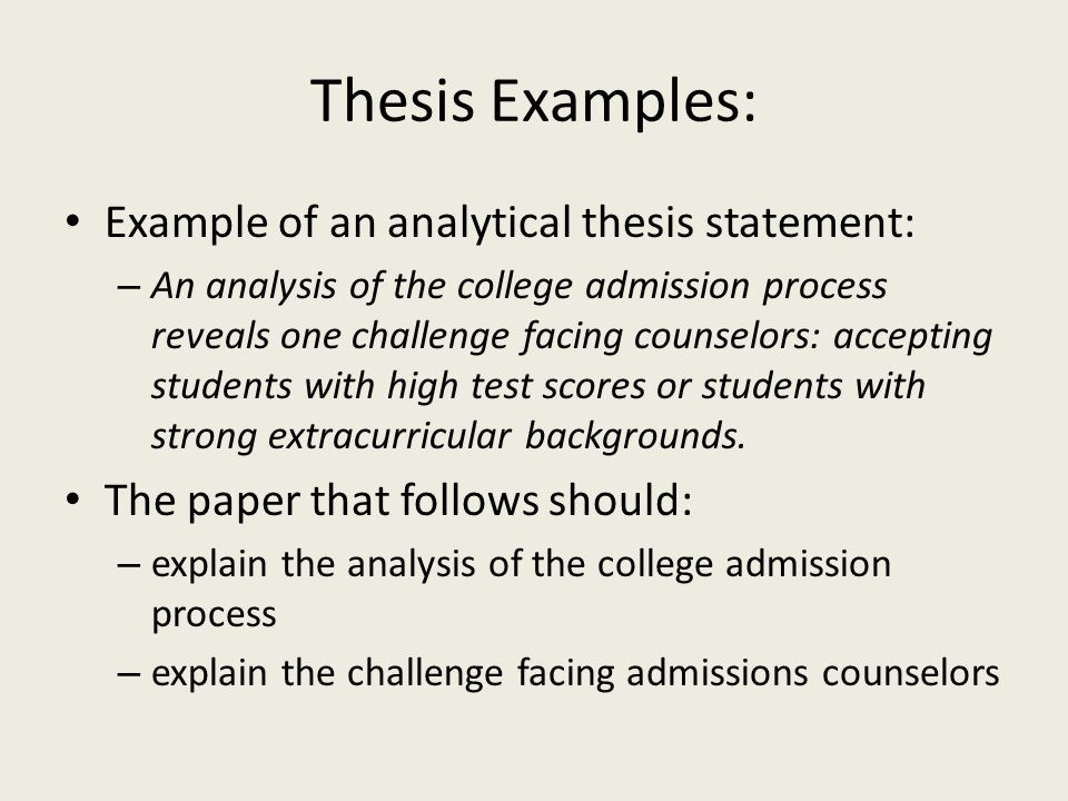 Thesis Statement For Analytical Essay Citing A Website Article In