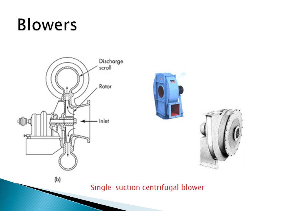 Single-suction centrifugal blower