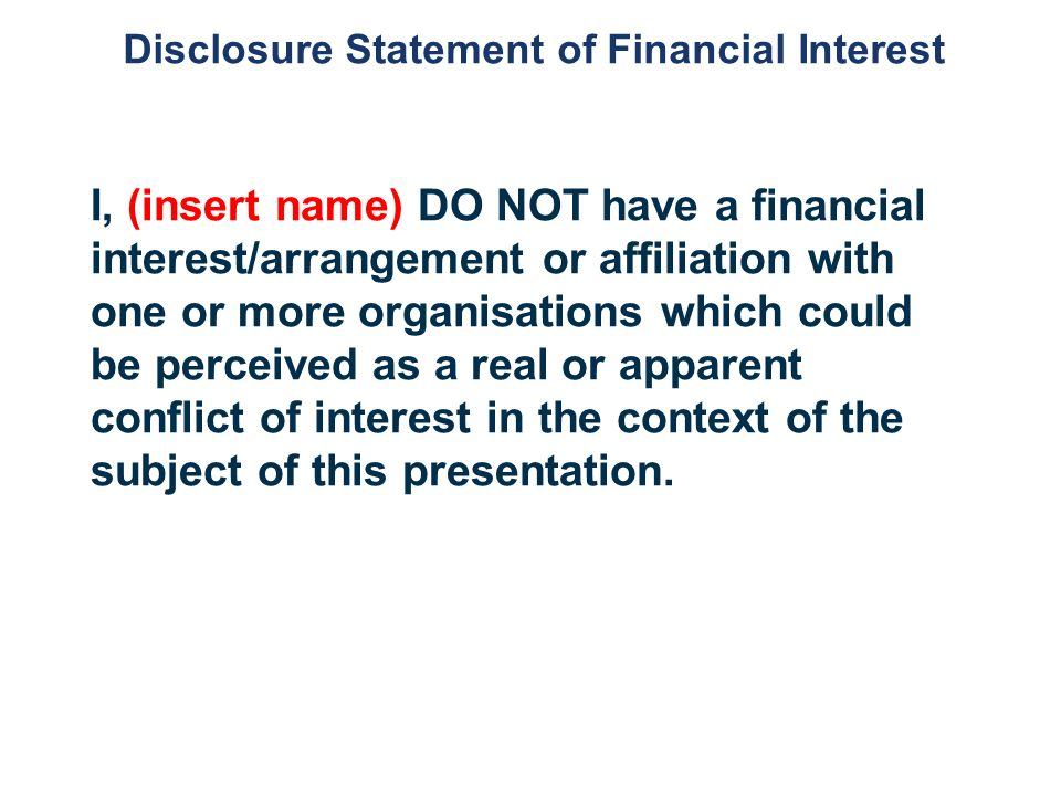 statement of interest essay
