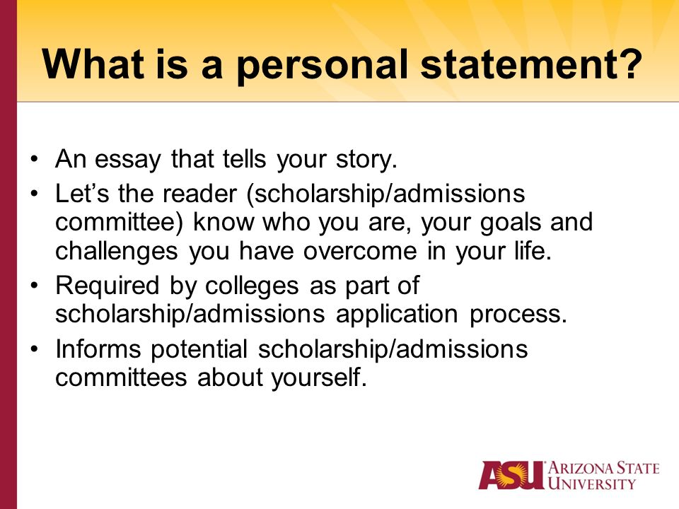 personal essays for scholorships Scholarship personal statement guide what is a personal statement personal statements are essays that your write for most scholarship applications.