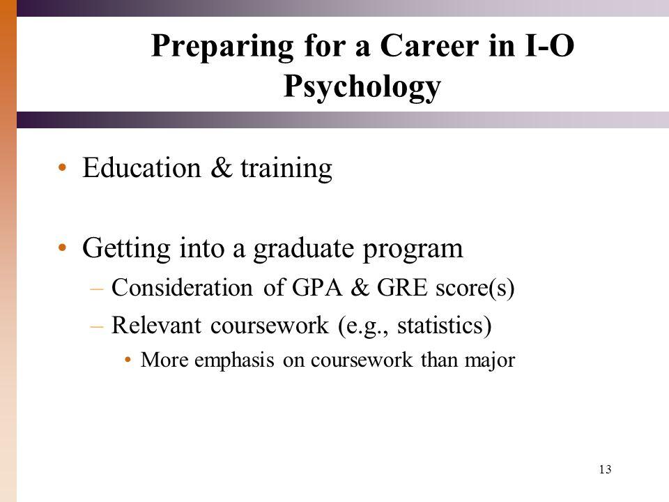 psycholgy coursework