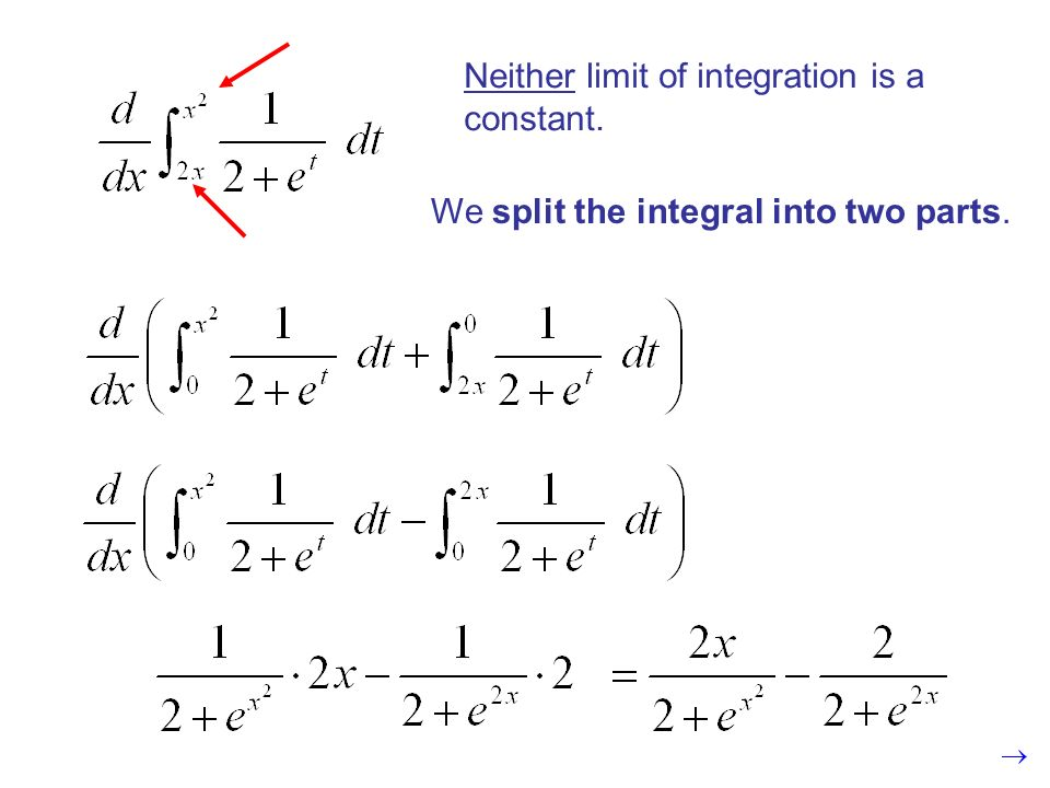 Neither limit of integration is a constant. It does not matter what constant we use.