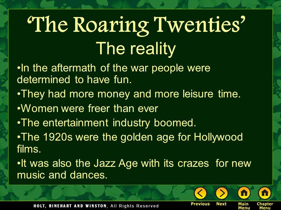 the roaring twenties the age of
