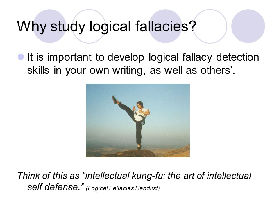 identifying fallacies essay