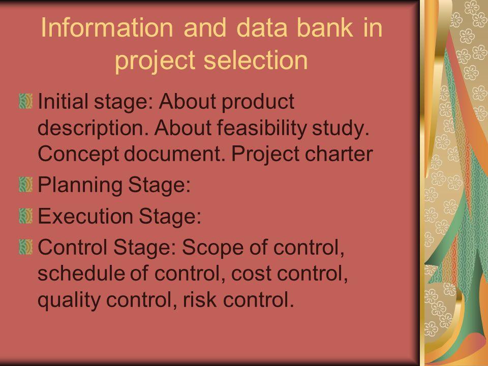 village data bank