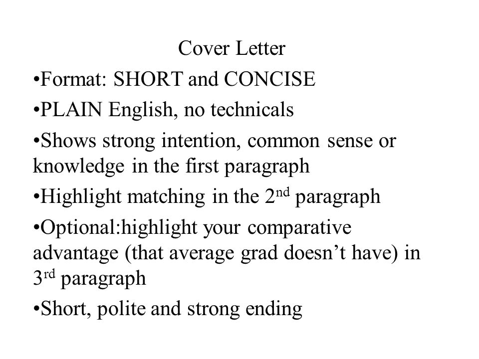 6 cover letter - Cover Letter For English Class