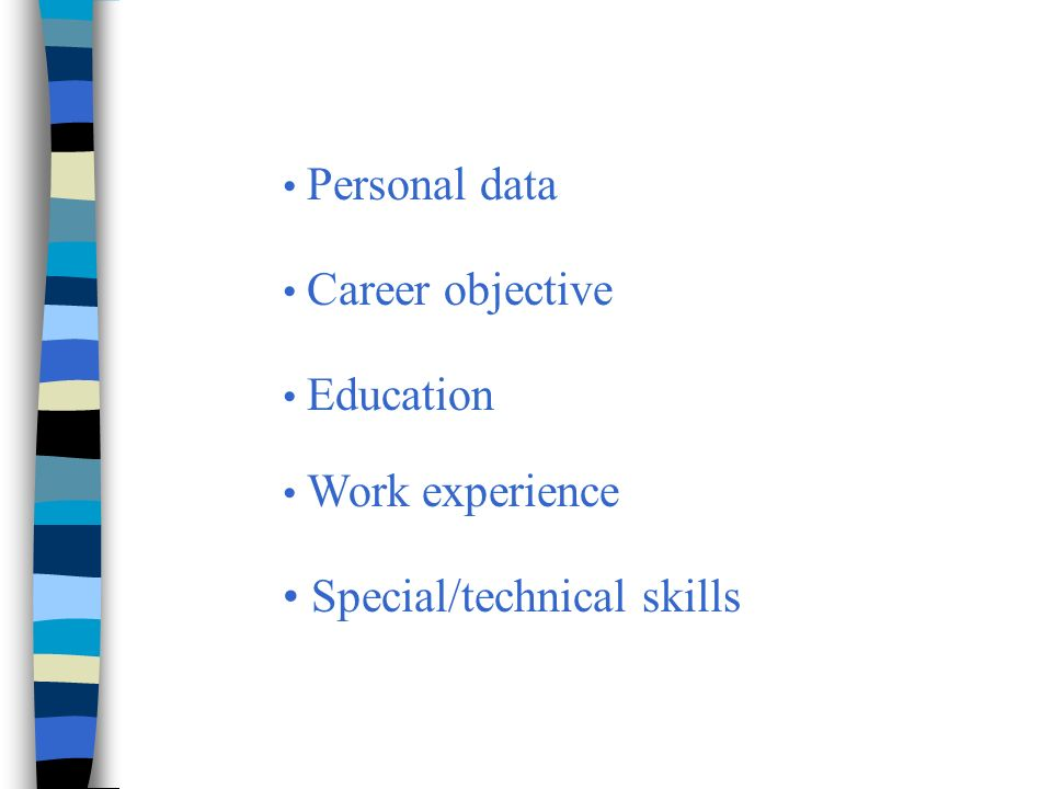 special qualifications