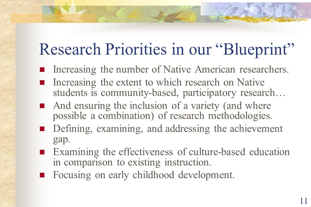 Branch interest in native american research child development focusing on early childhood development 11 research priorities in our blueprint increasing the number of native american researchers malvernweather Image collections