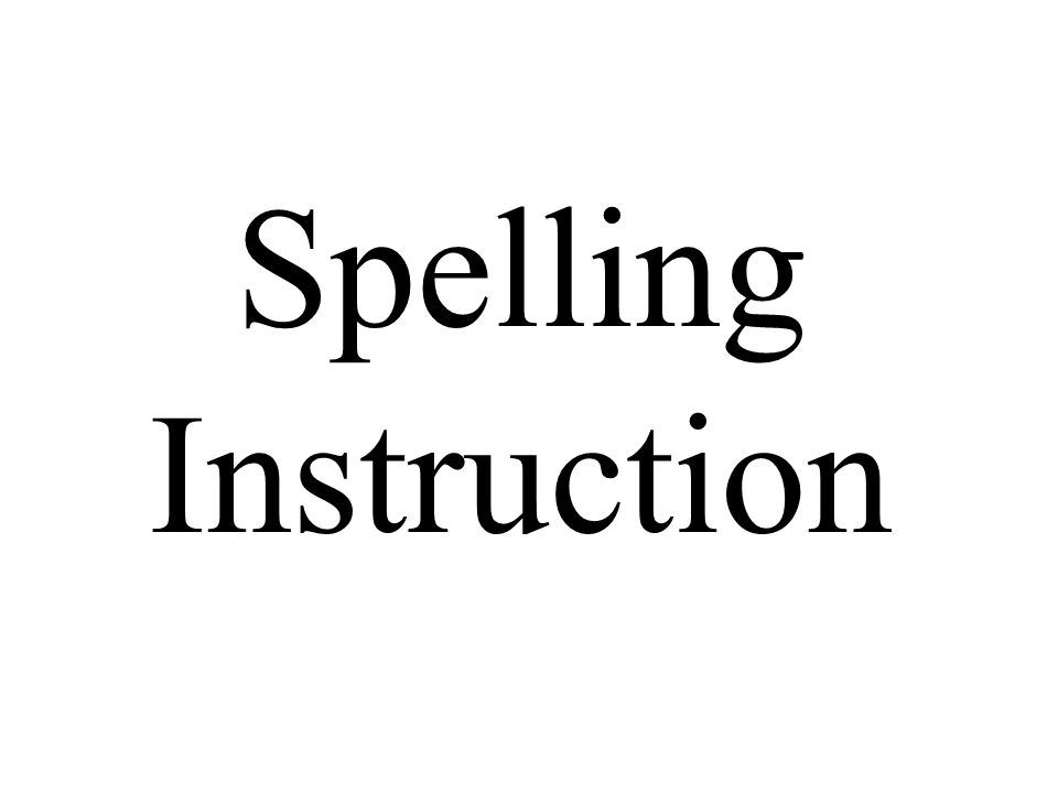 1 spelling instruction spelling instruction 2 big word game how many words can you make out of these letters