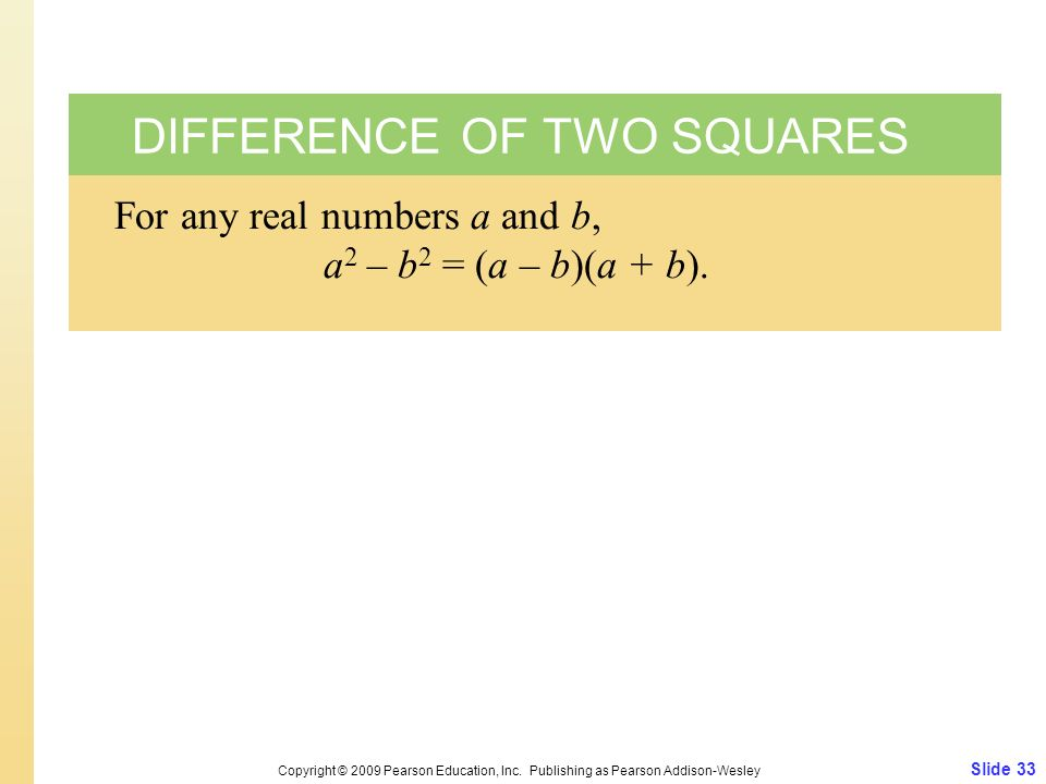 Slide 33 Copyright © 2009 Pearson Education, Inc.