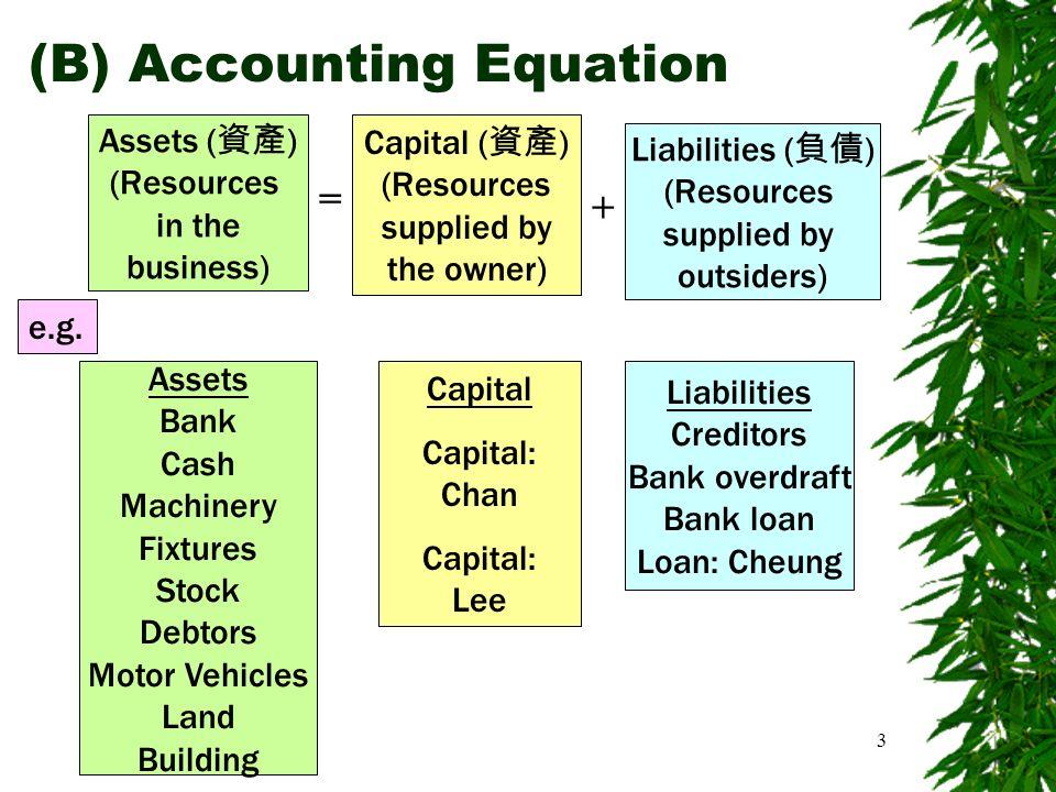 Accounting Equation Worksheet - Jennarocca