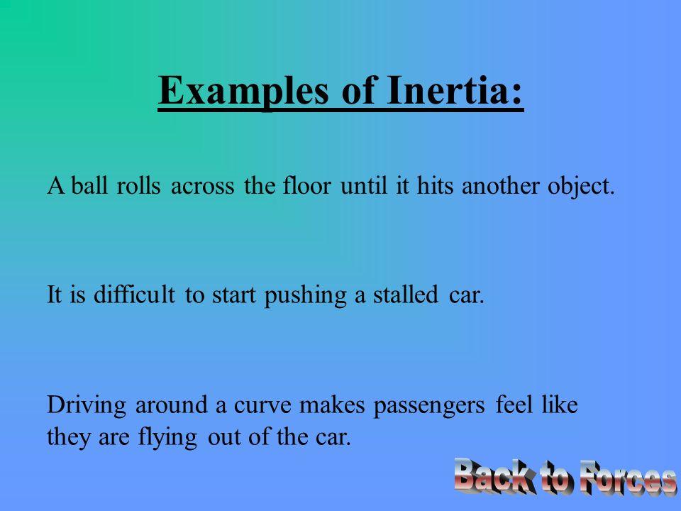 Inertia Lessons Tes Teach