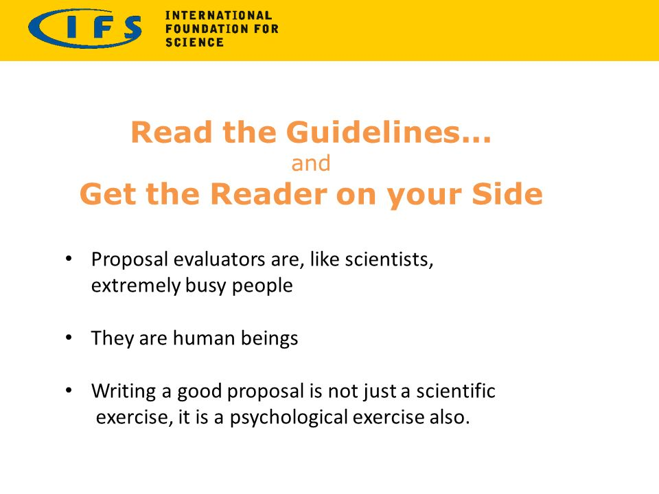 Developing Ifs Research Proposals Authoraid Proposal Writing