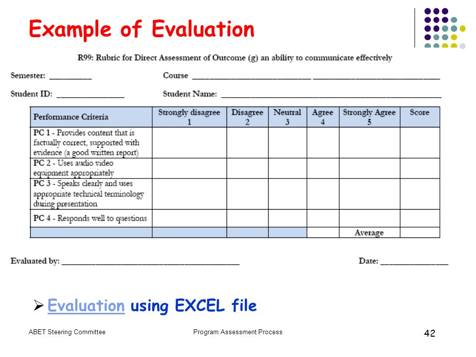 Excel Assessment
