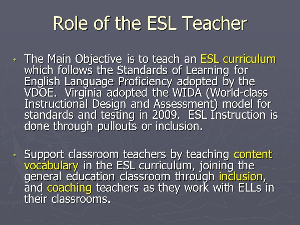 21 role of the esl teacher - Esl Teacher Duties
