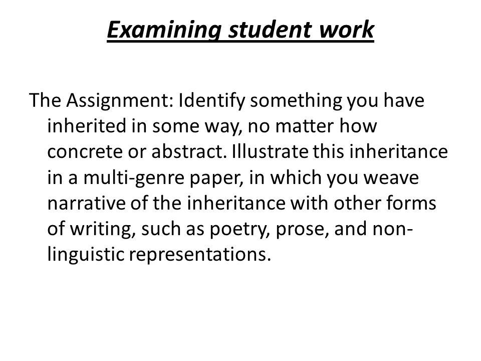 critical analysis essay assignment