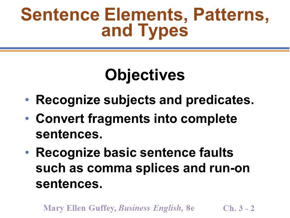 Convert sentence