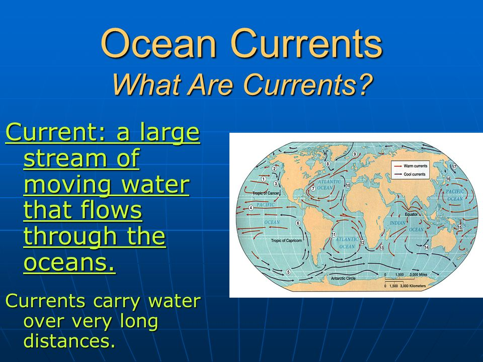 Ocean Currents What Are Currents.