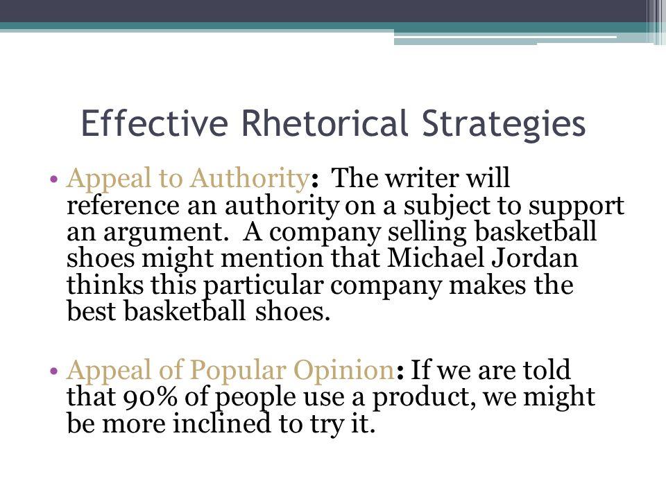 rhetorical strategies in corn pone opinions