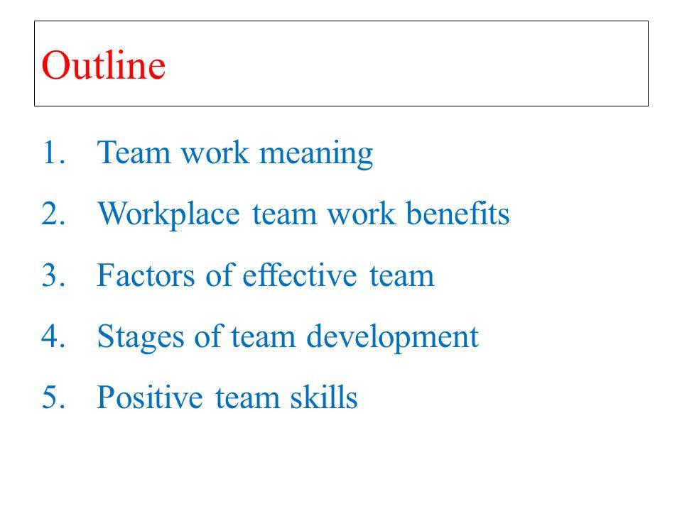 Chapter 6 team work blueprint by lechadeel qasaimeh ppt download team work meaning 2place team work benefits 3factors of effective team 4ages of team development 5positive team skills malvernweather Gallery