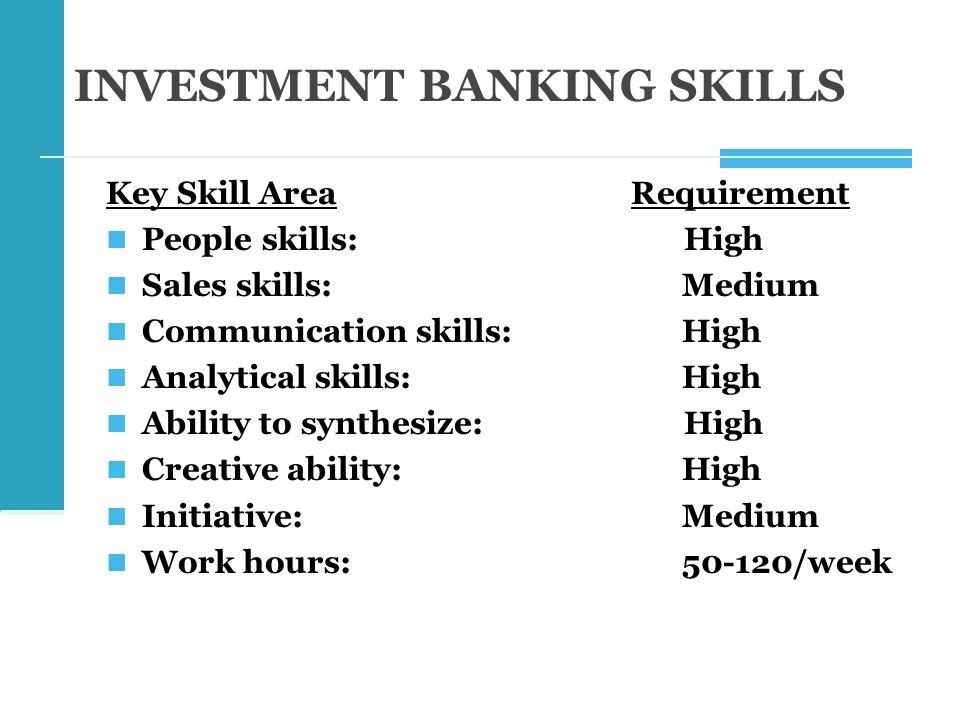 high analytical skills