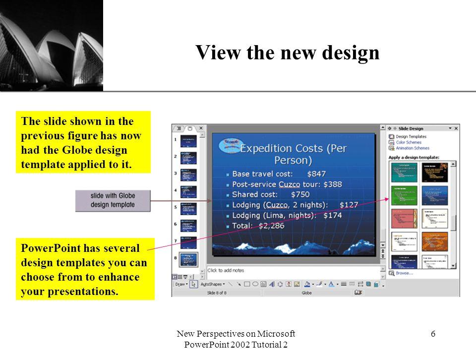 Xp new perspectives on microsoft powerpoint 2002 tutorial 2 1 6 xp toneelgroepblik Gallery