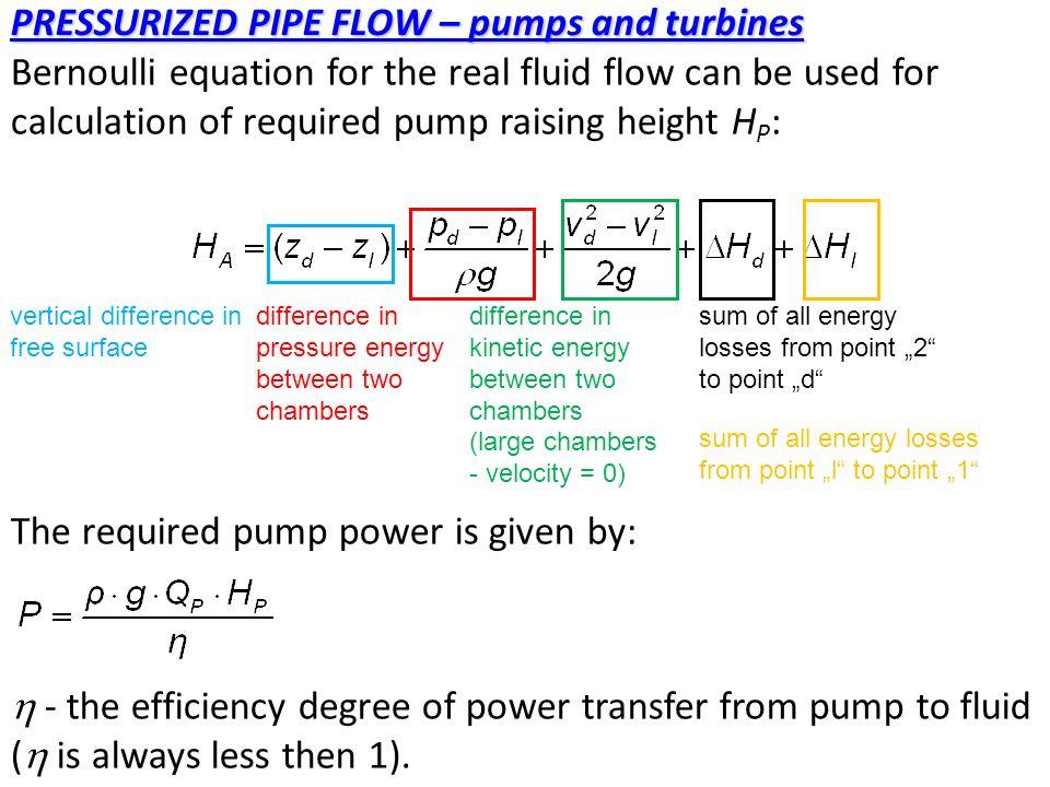 bernoulli 39 s equation pump. 51 bernoulli equation 39 s pump
