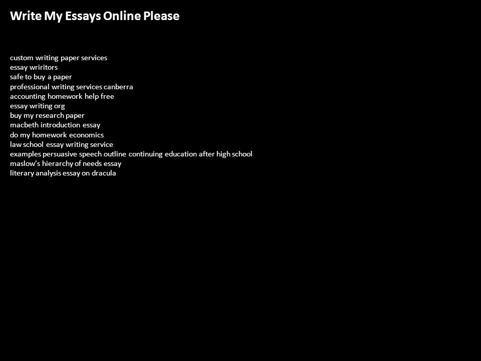 Is custom writing essay really safe?