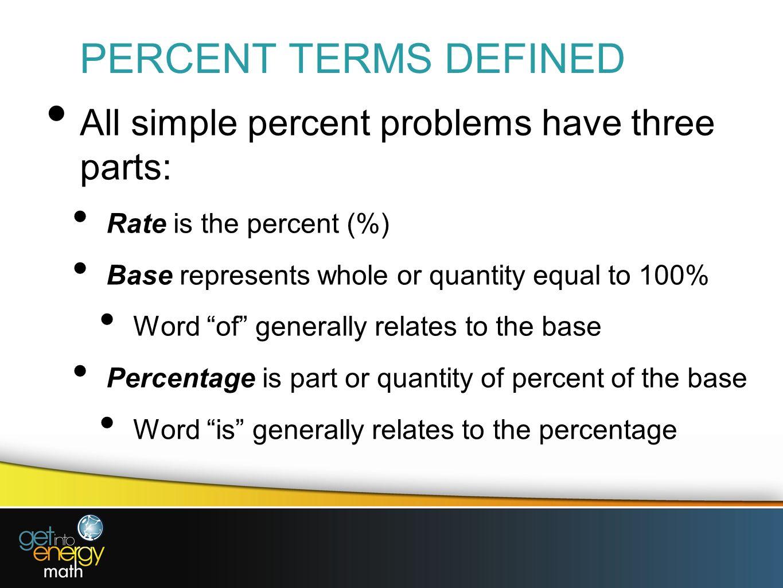 worksheet Percent Base Rate Worksheet presentation 2 percents indicates number of hundredths in 10 percent
