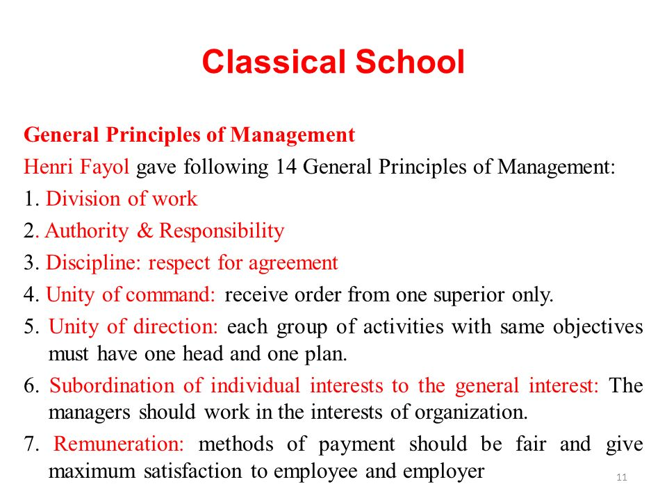 General Principles of Management Henri Fayol gave following 14 General Principles of Management: 1.