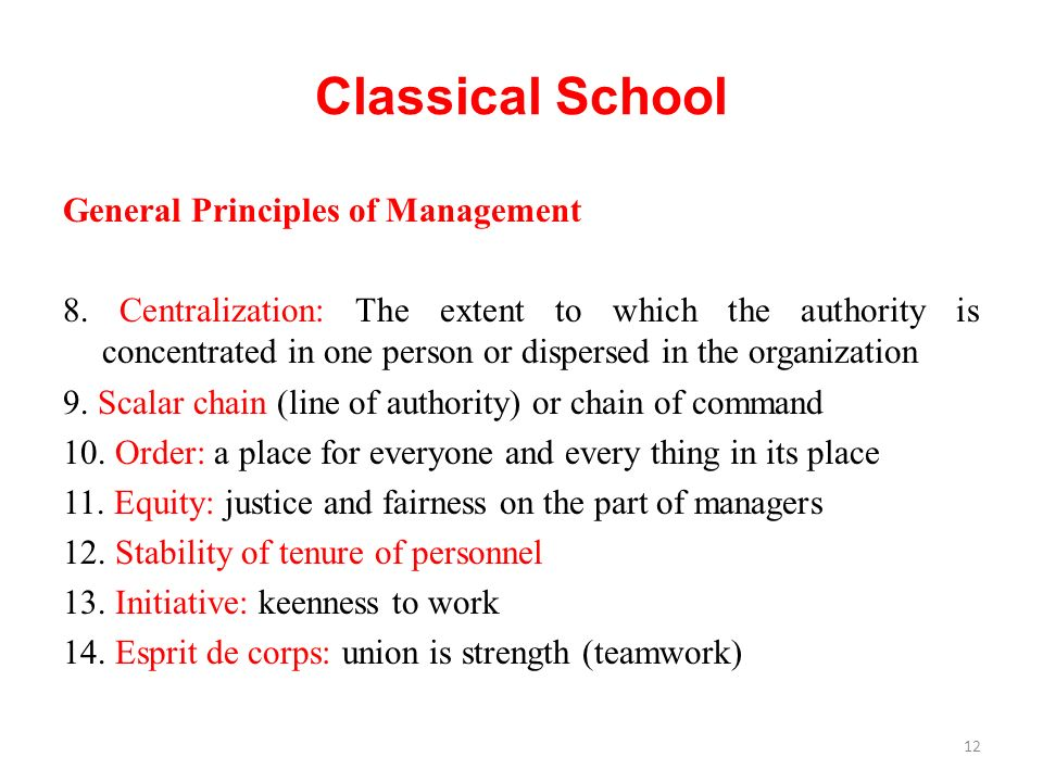 General Principles of Management 8.