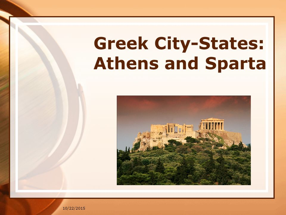 10/22/2015 Greek City-States: Athens and Sparta