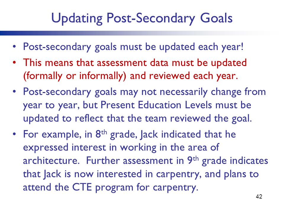 educational and life goals essay