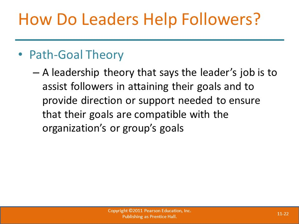 11-22 How Do Leaders Help Followers.