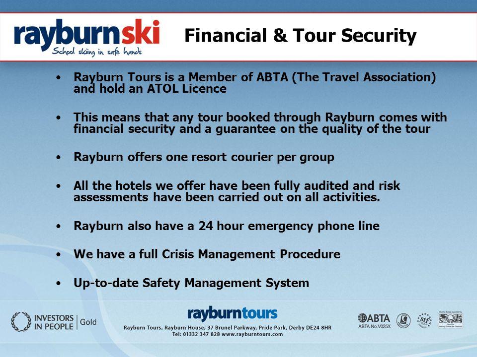 rayburn tours transport services ltd
