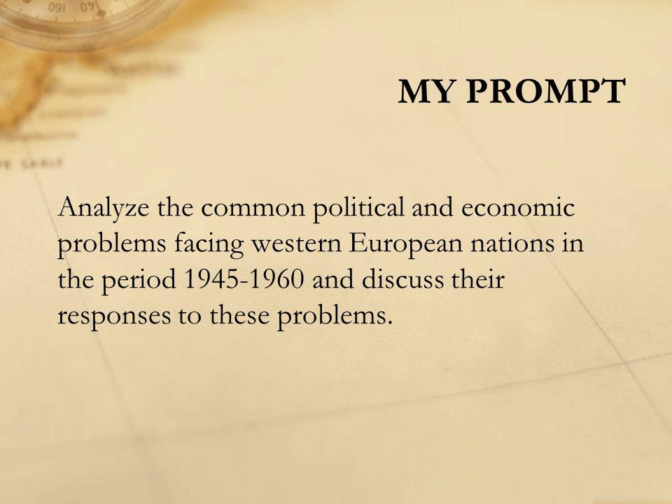 AP Euro prompt help!?