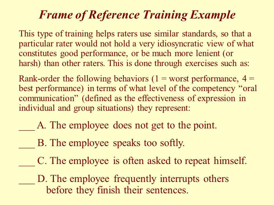 What Is Frame Of Reference In Communication - Frame Design & Reviews ✓