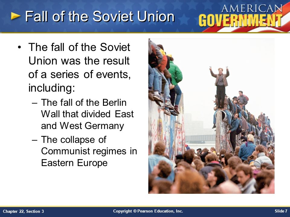 the fall of the soviet union and political status after the fall