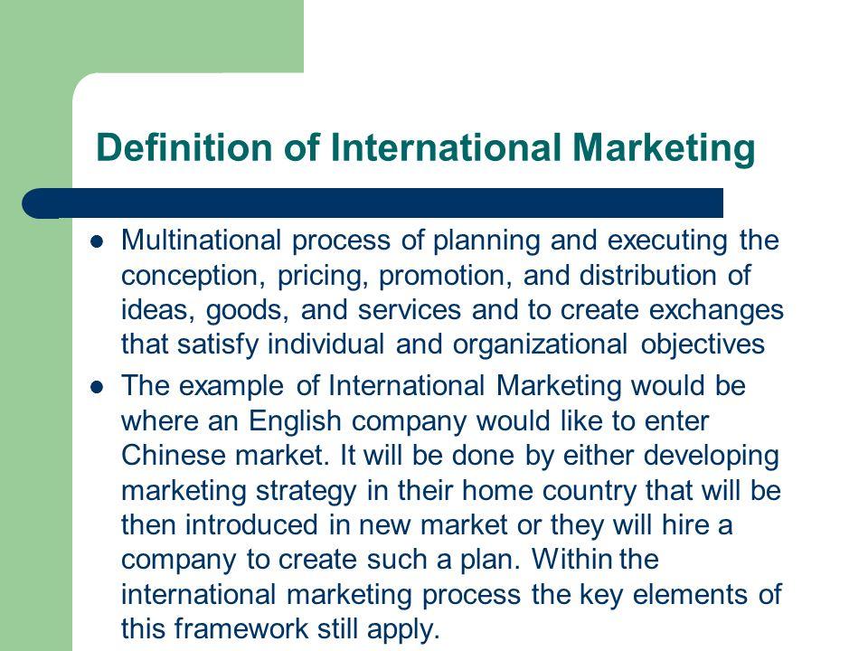 the challenges of international marketing International marketing - an introduction 1 international marketing the scope and challenge of international marketing bindumadhavi p.