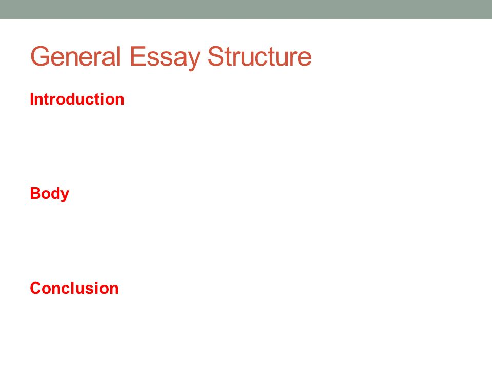 essay structure for academic ielts