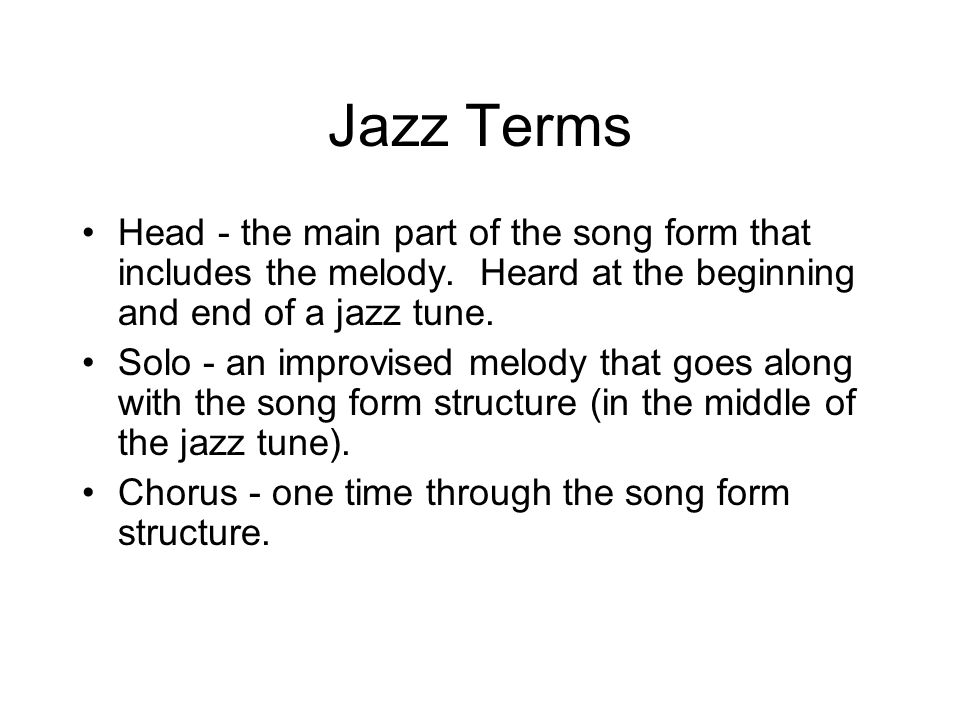 Jazz. Listening Take The A Train CD2 Tracks Duke Ellington ...